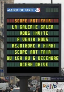Pub Scope Galea Mairie de Paris